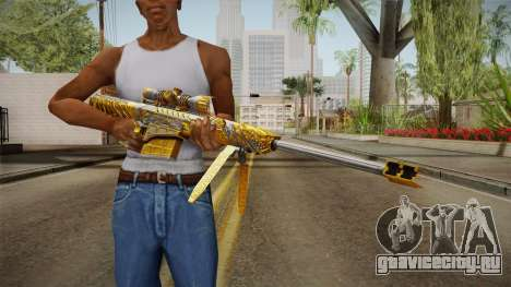 Cross Fire - M82A1 Born Beast Noble Gold для GTA San Andreas третий скриншот