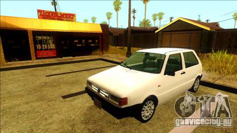 Fiat Uno Mille 1995 для GTA San Andreas