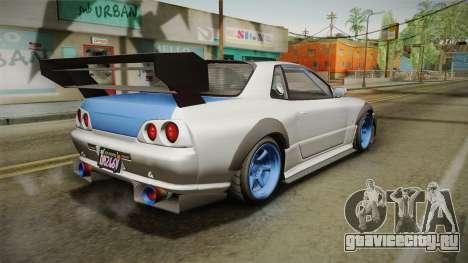 GTA 5 Annis Elegy Retro Custom v2 для GTA San Andreas вид слева