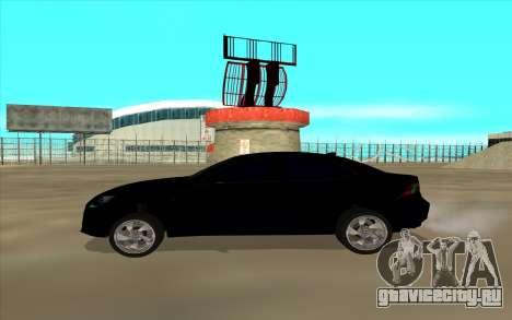 Lexus LS для GTA San Andreas вид слева