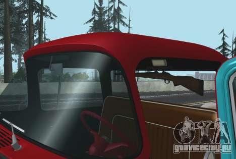 Chevrolet Apache для GTA San Andreas вид сзади