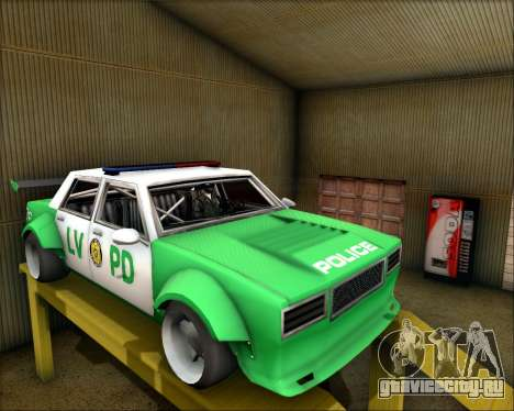 LVPD Drift Project для GTA San Andreas