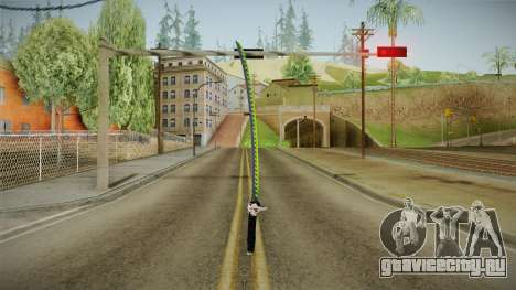Overwatch 9 - Genjis Sword для GTA San Andreas второй скриншот