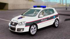Volkswagen Golf V BIH Police Car