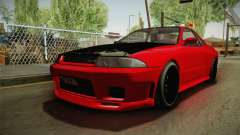 GTA 5 Annis Elegy Retro Custom v2 IVF для GTA San Andreas