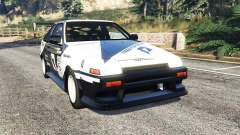 Toyota Sprinter Trueno GT-Apex (AE86) [add-on] для GTA 5