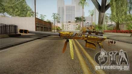 Cross Fire - M82A1 Born Beast Noble Gold для GTA San Andreas
