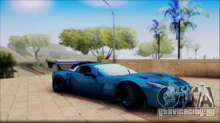Chevrolet Corvett Z06 для GTA San Andreas