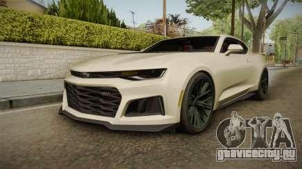 Chevrolet Camaro ZL1 2017 для GTA San Andreas