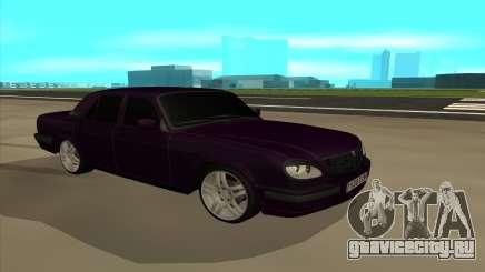 ГАЗ 31105 АК47 для GTA San Andreas