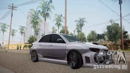 Subaru Impreza WRX STI 2009 TUNED для GTA San Andreas