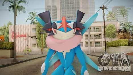 Pokémon - Greninja Ash для GTA San Andreas