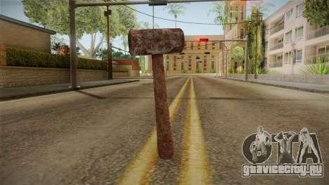 Leatherface Butcher Weapon 1 для GTA San Andreas второй скриншот