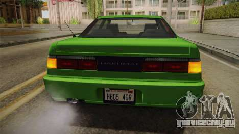 GTA 4 Dinka Hakumai для GTA San Andreas вид снизу