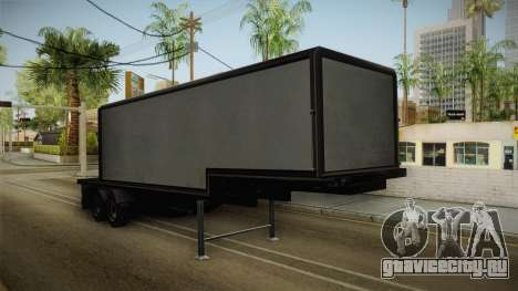 Volvo FH16 660 8x4 Convoy Heavy Weight Trailer 1 для GTA San Andreas вид справа