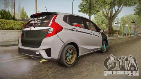Honda Jazz GK FIT RS v1 для GTA San Andreas вид слева