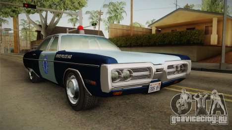 Plymouth Fury 1972 Massachusetts State Police для GTA San Andreas