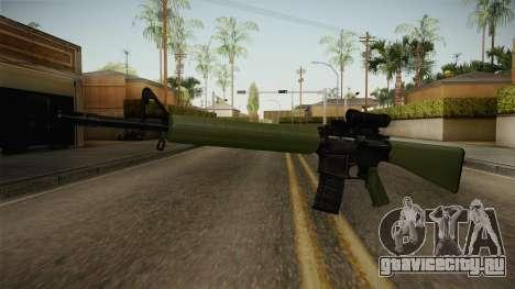 C7A1 Assault Rifle для GTA San Andreas второй скриншот