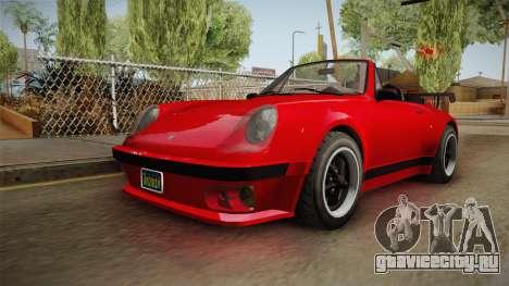 GTA 5 Pfister Comet Retro Cabrio IVF для GTA San Andreas