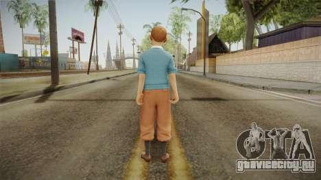Tintin для GTA San Andreas третий скриншот