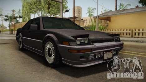 GTA 4 Dinka Hakumai Tuned Bumpers для GTA San Andreas вид справа