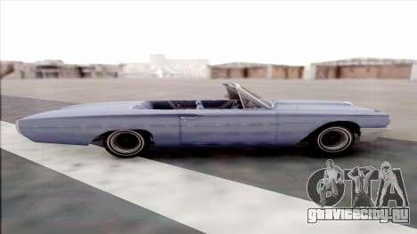 Ford Thunderbird для GTA San Andreas вид слева
