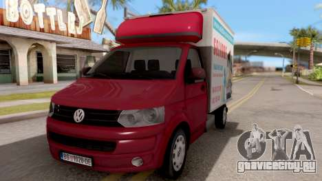Volkswagen Transporter T5 Selidbe для GTA San Andreas