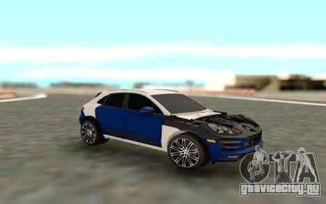 Porsche Macan S для GTA San Andreas
