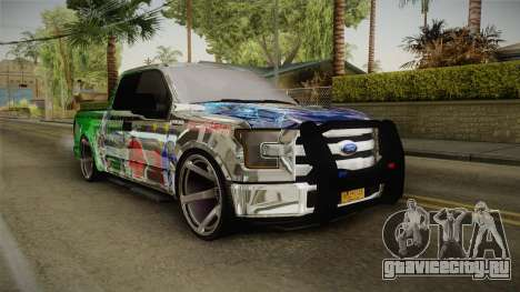 Ford F-350 Livery Philippines для GTA San Andreas