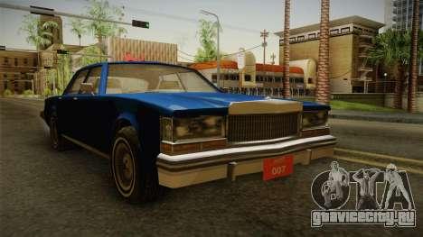 Driver: PL - Regina для GTA San Andreas вид справа