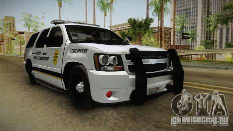 Chevrolet Tahoe 2015 Iowa State MVE для GTA San Andreas