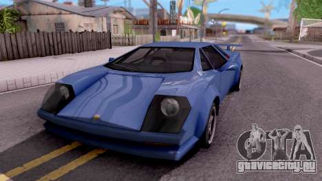 Infernus From Vice City для GTA San Andreas