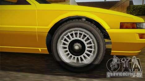 GTA 4 Dinka Hakumai SA Style для GTA San Andreas вид сзади
