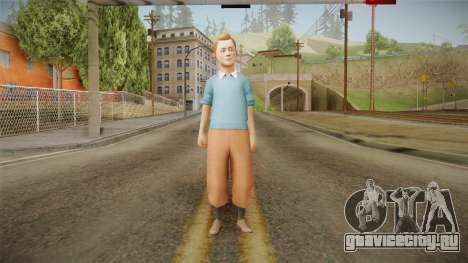 Tintin для GTA San Andreas второй скриншот