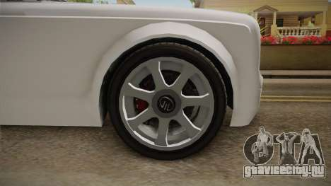 GTA 5 Enus Diamond Coupè для GTA San Andreas вид сзади
