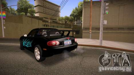 Mazda MX-5 Miata для GTA San Andreas двигатель
