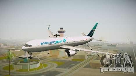 Boeing 767-338ER WestJet Airlines для GTA San Andreas