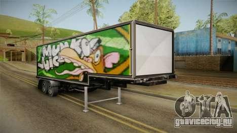 Volvo FH16 660 8x4 Convoy Heavy Weight Trailer 3 для GTA San Andreas