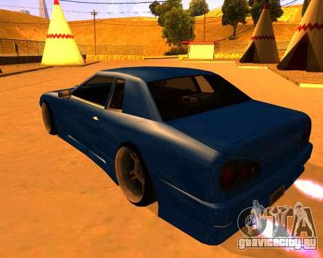 Elegy Stilov для GTA San Andreas вид слева
