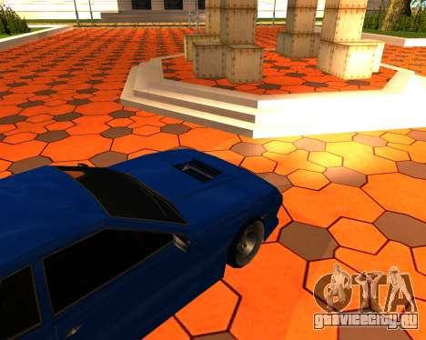 Elegy Stilov для GTA San Andreas вид сзади