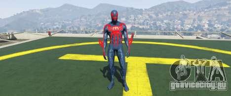 Spiderman 2099 для GTA 5