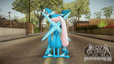 Pokémon - Greninja Ash для GTA San Andreas третий скриншот
