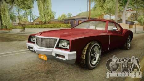 Driver: PL - Cerva для GTA San Andreas вид справа