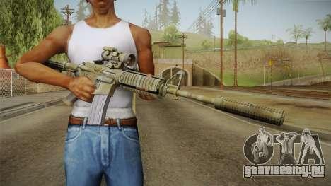 M4A1 CCO SD для GTA San Andreas третий скриншот