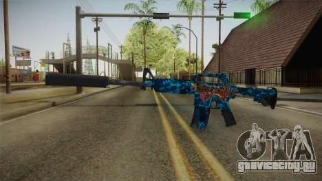 CS:GO - M4A1-S Masterpiece для GTA San Andreas