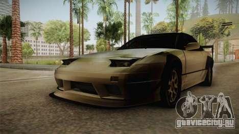 Nissan 240SX Lowpoly для GTA San Andreas