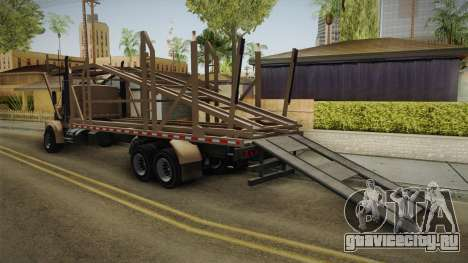 GTA 5 MTL Car Hauler для GTA San Andreas