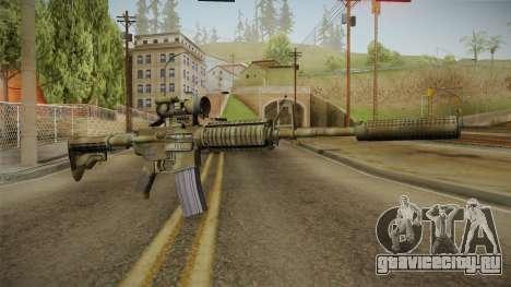 M4A1 CCO SD для GTA San Andreas