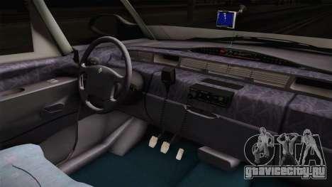Renault Espace 1999 2.0 16v для GTA San Andreas вид изнутри
