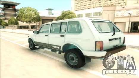 Lada Niva Urban для GTA San Andreas вид сзади слева
